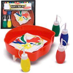 Swirl 'N Spin Art Kit