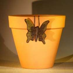 Hanging Butterfly Garden Pot Decoration