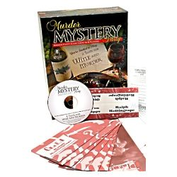 Taste for Wine and Murder Mystery Party Game