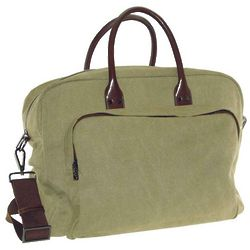 Washed Canvas Carry On Duffle