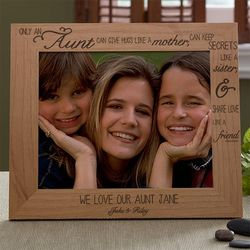 Special Aunt Personalized 8x10 Photo Frame