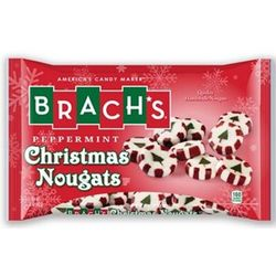 Peppermint Christmas Nougats