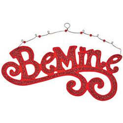 Be Mine Wooden Wall Hanging