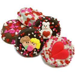 Belgian Chocolate Wrapped Valentine Oreos