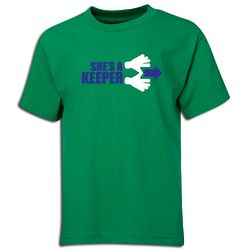 She's a Keeper Youth T-Shirt