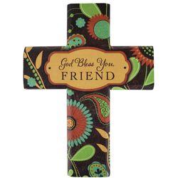 Canvas Design Cross for Friend