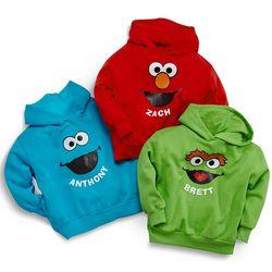 Personalized Sesame Street Hoodie
