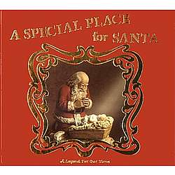 A Special Place for Santa Hardcover Book