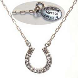 Horseshoe Crystal Necklace