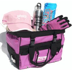 Women's Small Pink Jeep Gift Basket