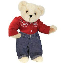 """15"""" Country Lovin' Boy Teddy Bear"""