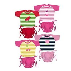 UPF 50+ Girls' Sun Suit