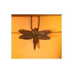 Cast Iron Dragonfly Hanging Garden Pot Decoration