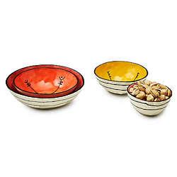 Tiny Ceramic Nesting Bowls