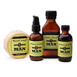 Handmade Herban Men's Grooming Set