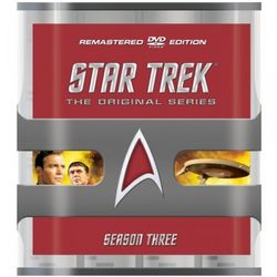 Star Trek The Original Series Season 3 DVD