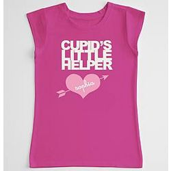Cupid's Little Helper Girl's T-Shirt