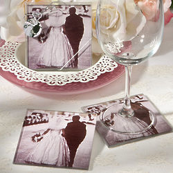 Vintage Custom Photo Coasters