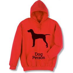 Dog Person Hooded Sweatshirt