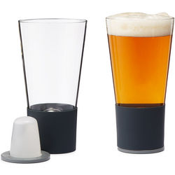 Self-Chilling Pint Glasses
