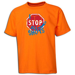 I Stop All Shots Youth T-Shirt