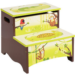 Kids Jungle Party Storage Step-Up