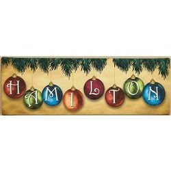 Personalized Ornament Canvas Print