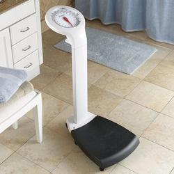 Large Dial Upright Bathroom Scale