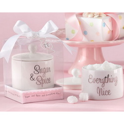 Sugar, Spice and Everything Nice Sugar Bowl Baby Shower Favor