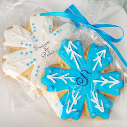 Personalized Winter Themed Small Cookies