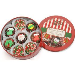 Christmas Oreos Tin