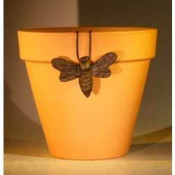 Hanging Bumble Bee Garden Pot Decoration