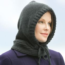 Lady's Hooded Neckwarmer