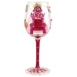 Queen Too Wine Glass