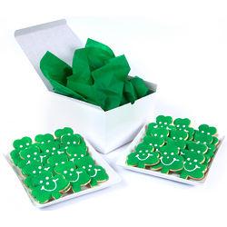 Sugar and Original St. Patrick's Day Shamrock Cookies