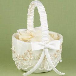 Vintage Charm Flower Basket