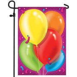 Party Balloons Flagsignable Garden Flag