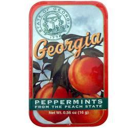 Georgia Mints Souvenir Tin