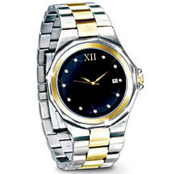 Timeless Love Stainless Steel Men's Watch