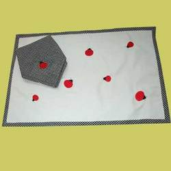 Ladybug Placemat and Napkin Set