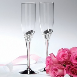 Forevermore Toasting Flutes