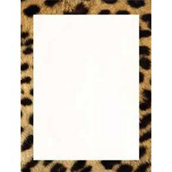 Cheetah Animal Print Stationery Paper