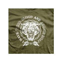 I Have Tiger Blood and Adonis DNA Men's T-Shirt