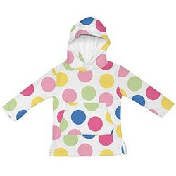 Infant/Toddler Pullover Hoodie Swimsuit Cover-Up