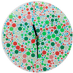 Color Blind Test Clock