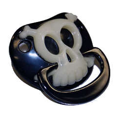 Pirate Skull and Crossbones Pacifier