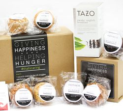 Homemade Muffins & Starbucks Tazo Tea Gift Box