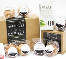 Homemade Muffins & Starbucks Tazo Tea Gift Box