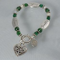Engraved Celtic Friendship Bracelet