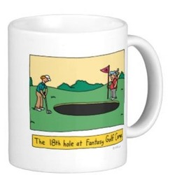 Dad's Golf Coffee Mug